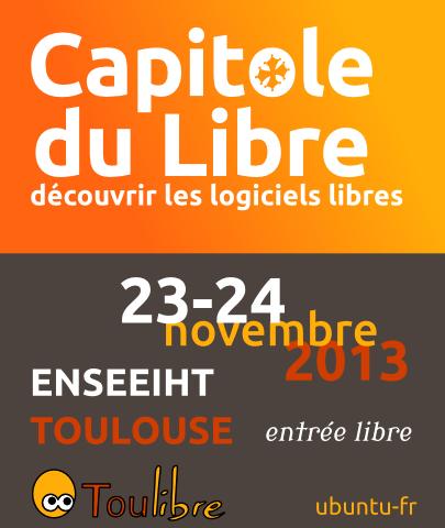 Capitole Du Libre - 23 au 24 novembre 2013